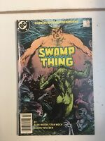 The SWAMP THING # 38 (July 1985)  Near Mint . 2nd CONSTANTINE Appearance !