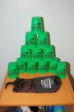 Speed Stacks Cup Set with Bag Bright Green