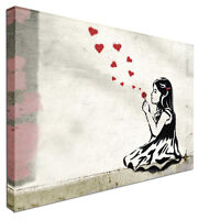He Loves Me -  NEW BANKSY Modern Canvas Wall Art Picture Print