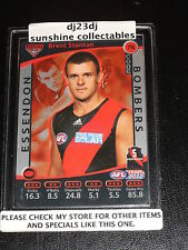 2012 TEAM COACH SILVER CODE CARD NO.76 BRENT STANTON ESSENDON