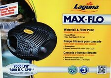 Laguna Max-Flo 2400gph Waterfall & Filter Pump for ponds pt-8248
