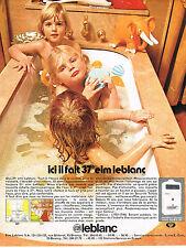 PUBLICITE  1971   ELM  LEBLANC   chaudière murale