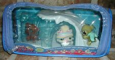 Littlest Pet Shop WINTER TIME PETS 180 Bulldog 181 Turtle 182 Very RARE and VHTF