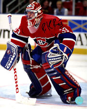 Patrick Roy Montreal Canadiens Signed Habs Goalie 8x10 Photo (AJ Sports Auth)