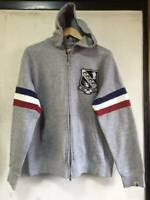 A BATHING APE BAPE Patch Zip Hoodie Tricolour Size M Vintage Made in Japan