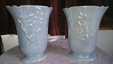 RARE A Pair of Vintage Price Kensington Art Deco Vases