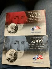 2009 District Of Columbia Quarter Sets Proof And Silver Proof