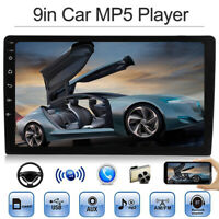 "9"" solo 1Din coche Radio estéreo FM/MP5 Player Bluetooth HD 1080p pantalla Toque"