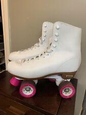 Chicago Women's White Roller Skates White Quad Rink Skates Size Us 10 Exercise