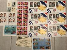 US Stamp Lot World Cup Elvis Nixon Birds Sea Life $16.66 Guyana OJ Simpson