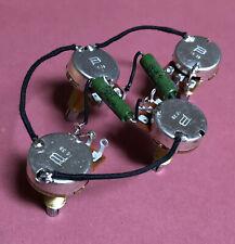 USA Les Paul 50s PIO Wiring Harness Paper In Oil Cap PreWired Bourns Woman Tone