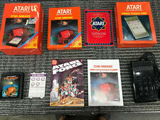 STAR RAIDERS Complete Video Game Touch Pad Comic Manual Box Atari 2600 CX 2660-1
