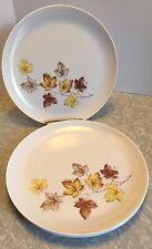 Set Of 4 Vintage Libbey Melmac Melamine Plates Rustic Leaves Approx 10 Inches & melamine plates vintage set | eBay
