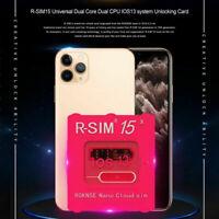 R-SIM15 Nano Unlock RSIM Card for iPhone 11 Pro XS Max XR 8 7 6s Plus iOS13,12