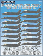 "1/32 Furball F-35A ""Big Scale Lightning IIs"" for the Italeri Kit"