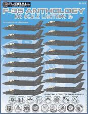 "1/32 Furball F-35A ""Big Scale Lightning IIs"" for the Italeri Kit"