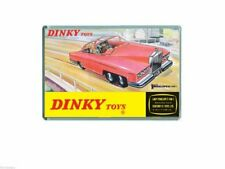 60's NOSTALGIA -THUNDERBIRDS - DINKY FAB ONE TOY ADVERT - JUMBO FRIDGE MAGNET