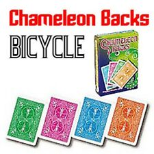 Chameleon Backs - Bicycle Card Stock! - Color Changing Card Packet Magic Trick