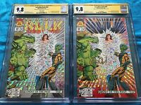 Incredible Hulk #400 1st and 2nd - Marvel - CGC SS 9.8 - Sig by P David, G Frank
