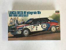 Lancia Delta HF integrale 16v 1991 1000 Lakes Rally 1:24 ScaleHasegawa Hobby