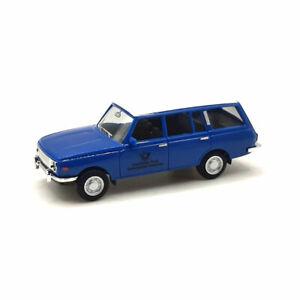 """Herpa 095822 Wartburg 353 Tourist """" Deutsche Post """" Blue 1:87 Model Car New !°"""