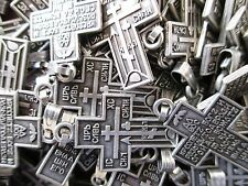 10 PCS RUSSIAN ORTHODOX GOLGOTHA CROSSES, PENDANT FROM HOLY LAND, WHOLESALE