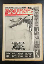 Sounds Magazine feat Roger Daltrey, Wings: June 28th 1975