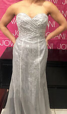 *BEAUTIFUL*NIGHT MOVES*Prom* Pageant* Gown*Dress*Evening*  SIZE 4 COLOR GRAY