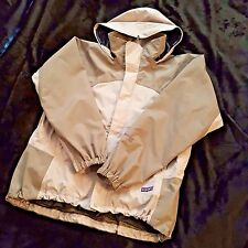 Patagonia Full-Zip Hooded GORE-TEX XCR Jacket Pale Pink Warm Gray Women's Small
