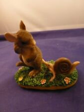 "Charming Tails Figurine ""Taggin' Along"""