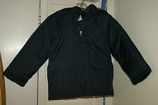 NWT New Boys Gymboree Classic Hooded Nylon Navy Blue Coat Sz S (5-6)