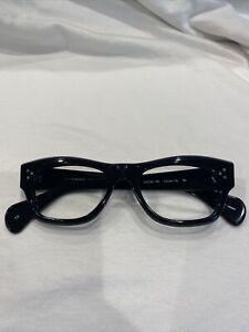 Oliver Peoples Tycoon XL BK Eyeglasses Frames 50[]20-150