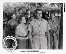 Lot of 3 Tyrone Power stills AN AMERICAN GUERRILLA IN THE PHILIPPINES 1950 snipe