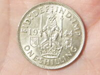 1944 Shilling George VI Nice Grade Scottish Arms HIGH GRADE  #M65