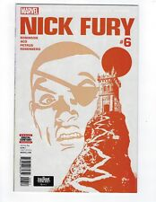Nick Fury # 6 Regular Cover Marvel NM
