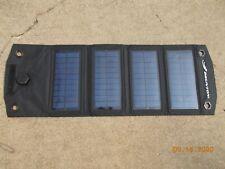 Brunton Foldable 4 Panel Solar Array Charger, USB Output (small Brunton letters)