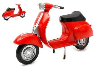 Model vespa 50 Special Scale 1:6 Red vehicles For collection Motor Bike