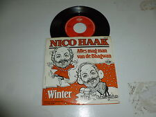 "NICO HAAK - Alles Mag Man Van De Bhagwan - 1985 Dutch 7"" Juke Box Vinyl Single"