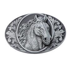 Fashion Vintage Western Cowboy Horse Head Belt Buckle Accory for Men