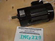 Bodine inline gearmotor 692, 1/3hp, 115/230, 170rpm, 10:1, 0692, 48R6BFCI-F2