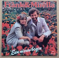 LP Frank & Mirella ‎– Een Nieuw Begin Holland Schlager 1981 Polydor Nm