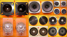 Assorted Vintage JAMO CORAL MAGNAVOX etc Tweeter Speakers