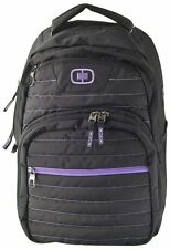 "Ogio Backpack for Notebook Laptop Tablet ""Puff""  Black/Purple"