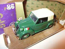 FIAT 508 C CABRIOLET CABRIO 1100 FZ. servizio diplomatico, Brumm in 1:43 BOX!