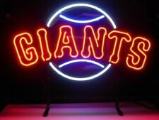 "New San Francisco Giants Neon Sign Beer Bar Pub Gift Light 17""x14"""