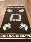 Hand Knotted Vintage Thailand Pictorial Wearable Wool Kilim 6.5 x 3.2 Ft