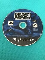 Playstation 2 Medal Of Honour Rising Sun- PS2- Disc Only
