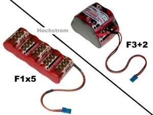 Hochstrom Empfängerakku XCell SCR 6V5000 mAh / mehrere Optionen...