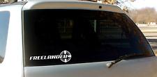 Freelander Decal / sticker / 20cm long white
