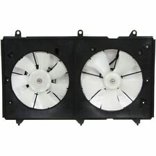 OE Replacement for 2003-2007 Honda Accord Radiator Cooling Fan Assembly 4 Cylinder + Coupe + Sedan + Valeo Go-Parts Performance HO3115134 Replacement For Honda Accord